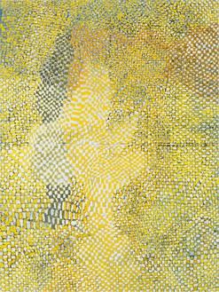 Harmony Korine, Shroomy Check, 2014 Oil on canvas, 124 × 93 inches (315 × 236.2 cm)