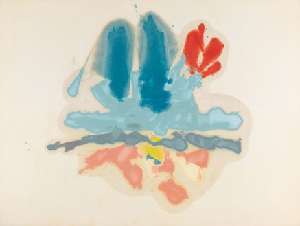 Helen Frankenthaler, Hommage à M.L., 1962 Oil on canvas, 61 ¾ × 82 ⅞ inches (156.8 × 210.5 cm)© 2014 Helen Frankenthaler Foundation, Inc./Artists Rights Society (ARS), New York. Photo: Rob McKeever