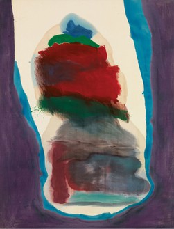 Helen Frankenthaler, Gulf Stream, 1963 Oil and acrylic on canvas, 86 × 65 inches (218.4 × 165.1 cm)© 2014 Helen Frankenthaler Foundation, Inc./Artists Rights Society (ARS), New York. Photo: Rob McKeever