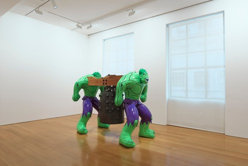 Installation view Artwork © Jeff Koons