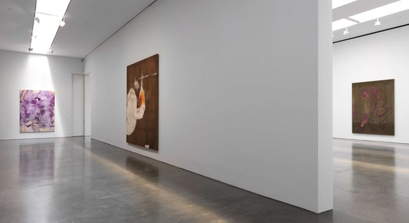 Installation view © 2014 Julian Schnabel/Artists Rights Society (ARS), New York, photo by Rob McKeever