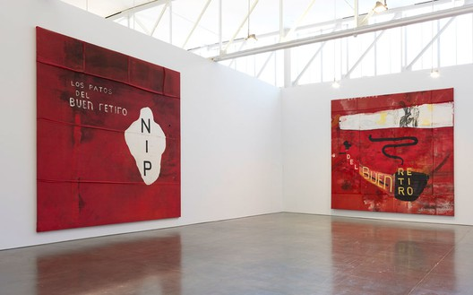 Installation view © 2014 Julian Schnabel/Artists Rights Society (ARS), New York Photo by Rob McKeever