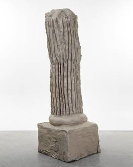 Urs Fischer, column one, 2014 Cast bronze, 74 × 25 × 24 inches (188 × 63.5 × 61 cm), edition of 2© Urs Fischer. Photo: Melissa Christy