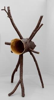 Giuseppe Penone, Spazio di luce, 2008 Bronze and gold, 103 15/16 × 68 ½ × 49 3/16 inches (264 × 174 × 125 cm)© Giuseppe Penone