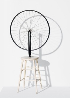 "Marcel Duchamp, Bicycle Wheel, 1913/64 (""Ex Arturo,"" one of two artist's proofs)© Succession Marcel Duchamp/ADAGP, Paris/Artists Rights Society (ARS), New York 2014"