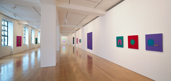 Installation view © Michael Craig-Martin