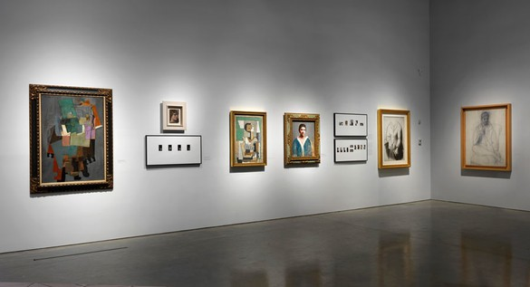 Installation view © 2014 Estate of Pablo Picasso/Artists Rights Society (ARS), New York. Photo: Rob McKeever