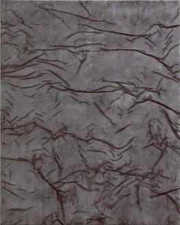 Rudolf Stingel, Untitled, 2010 Oil and enamel on canvas, 78 ¾ × 63 inches (200 × 160 cm)© Rudolf Stingel