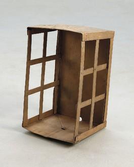 Rachel Whiteread, Box, 2013 Bronze, 22 7/16 × 13 × 12 3/16 inches (57 × 33 × 31 cm)