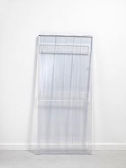 Rachel Whiteread, circa 1610, 2012 Resin, 70 × 1/16 × 31 ⅞ × 2 inches (178 × 81 × 5 cm)