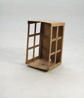 Rachel Whiteread, Box, 2013 Bronze, 22 ½ × 13 × 12 ¼ inches (57 × 33 × 31 cm)© Rachel Whiteread. Photo: Mike Bruce