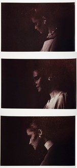 Richard Prince, Untitled (Three women with earrings), 1980 3 Ektacolor photographs, 20 × 24 inches each (50.8 × 61 cm), edition of 10