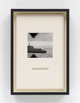 Taryn Simon, Victoria Harbour, Hong Kong, 2014 Archival inkjet prints in boxed mat and aluminum frame, 16 ⅛ × 10 ⅞ inches (41 × 27.6 cm)© 2014 Taryn Simon