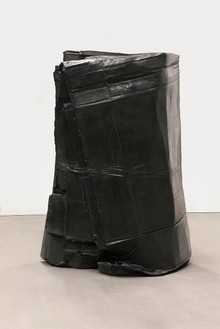 Tatiana Trouvé, Refolding, 2011 Bronze, patina, 37 ⅜ × 27 3/16 × 18 ⅞ inches (95 × 69 × 48 cm), edition of 3Photo by Laurent Edeline