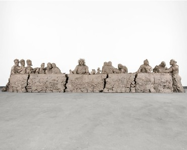 Urs Fischer: last supper, Park & 75, New York