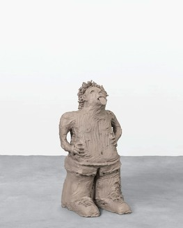 Urs Fischer, boy w/ tongue, 2014 Cast bronze, 35 ½ × 18 × 18 inches (90.2 × 45.7 × 45.7 cm), edition of 2© Urs Fischer. Photo: Mats Nordman