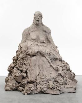 Urs Fischer, pietà, 2014 Cast bronze, 58 × 50 × 61 ½ inches (147.3 × 127 × 156.2 cm), edition of 2© Urs Fischer. Photo: Melissa Christy