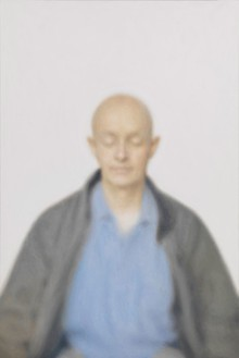 Y. Z. Kami, Untitled, 2009–12 Oil on linen, 112 × 75 inches (284.5 × 190.5 cm)