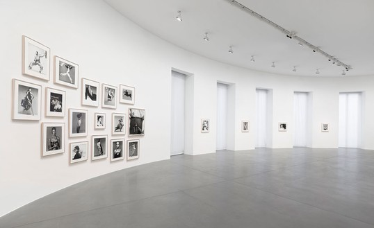 Installation view Artwork © The Richard Avedon Foundation, photo by Matteo D'Eletto