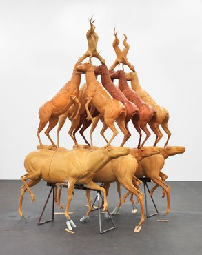 Bruce Nauman: Animal Pyramid, Park & 75, New York