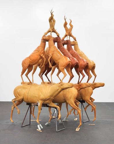 Bruce Nauman Animal Pyramid Park 75 New York January 29 February 21 2015 Gagosian