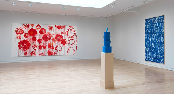 Installation view Artwork © Cy Twombly Foundation. Collection Cy Twombly Foundation. Photo: Rob McKeever