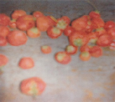 Cy Twombly, Strawberries (Gaeta), 2008 Color dry-print, 10 ¼ × 9 ⅞ inches (26 × 25.1 cm), edition of 6© Nicola Del Roscio Foundation
