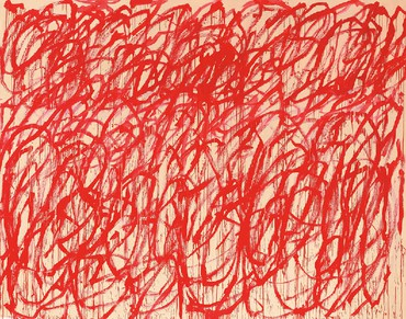 Cy Twombly, Grosvenor Hill, London
