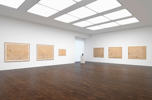 Installation view Artwork © Cy Twombly Foundation. Photo: Mike Bruce
