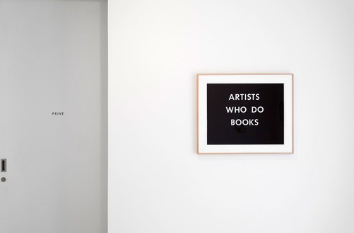 Installation view Artwork © Ed Ruscha. Photo: Zarko Vijatovic