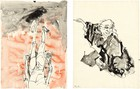 Georg Baselitz: Visit from Hokusai, 980 Madison Avenue, New York