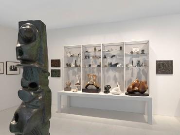 Henry Moore: Wunderkammer—Origin of Forms, Davies Street, London