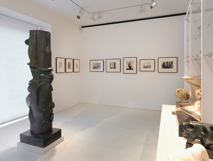 Installation view Reproduced by permission of The Henry Moore Foundation Photo by Mike Bruce