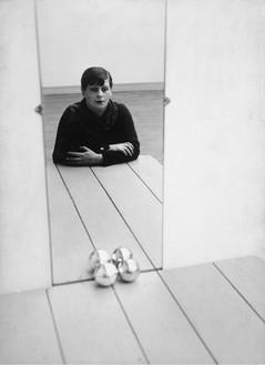 Florence Henri, Self-Portrait, 1928 Gelatin silver print, 11 × 8 inches (27.9 × 20.3 cm)David Dechman and Michel Mercure© Galleria Martini & Ronchetti, Genoa