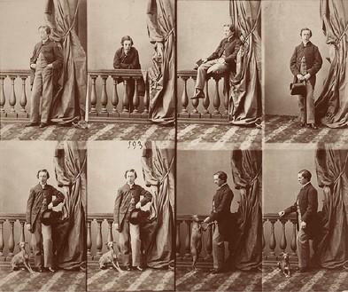 André-Adolphe-Eugène Disdéri, Kotchoubey, September 1857–November 1858 Albumen silver print, 7 ¾ × 9 ½ inches (19.6 × 24 cm)George Eastman House, Rochester, New York, Gift of Eastman Kodak Company