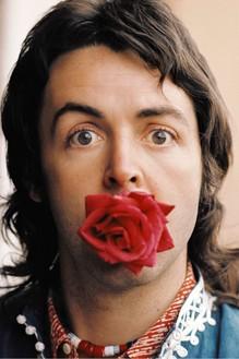 Linda Mccartney, Paul with Rose, Marrakesh, 1972 C-type print© 1972 Paul McCartney