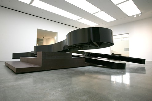 Michael Heizer, Altar 3, 2015 Weathering steel coated with polyurethane, 5 feet 2 ½ inches × 30 feet × 31 feet 7 ½ inches (1.59 × 9.14 × 9.64 m)Photo: Rob McKeever
