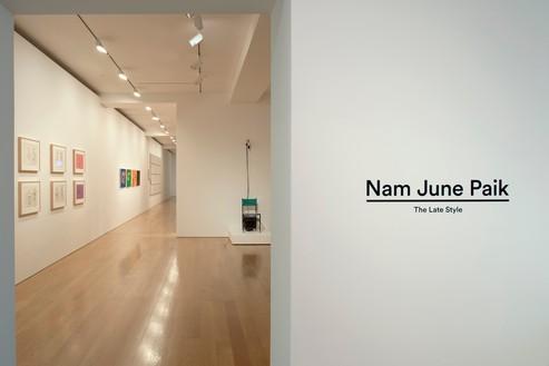 Installation view Artwork © Nam June Paik Estate