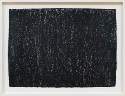 Richard Serra, Ramble 3-6, 2015 Litho crayon on paper, 22 × 30 inches (55.9 × 76.2 cm)© Richard Serra