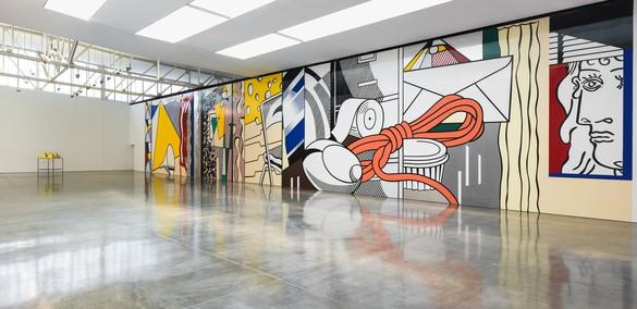 Installation view Artwork © Estate of Roy Lichtenstein. Photo: Rob McKeever