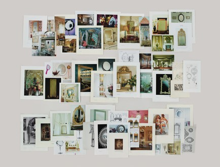 Taryn Simon, Folder: Mirrors, 2012 Archival inkjet print, 47 × 62 inches (47 × 157.5 cm), edition of 5© Taryn Simon