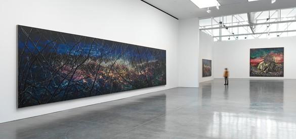 Installation view Artwork © Zeng Fanzhi Studio. Photo: Rob McKeever