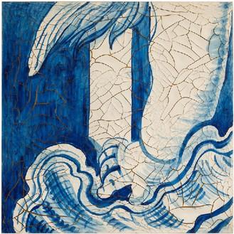 Adriana Varejão, Azulejão (Angel's Arm), 2016 Oil and plaster on canvas, 70 ⅞ × 70 ⅞ inches (180 × 180 cm)© Adriana Varejão, photo by Vicente de Mello