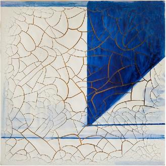 Adriana Varejão, Azulejão (Neo-concrete), 2016 Oil and plaster on canvas, 70 ⅞ × 70 ⅞ inches (180 × 180 cm)© Adriana Varejão, photo by Vicente de Mello