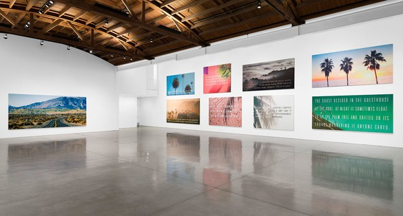 Installation view © Alex Israel and Bret Easton Ellis; image(s) courtesy iStock, photo by Jeff McLane