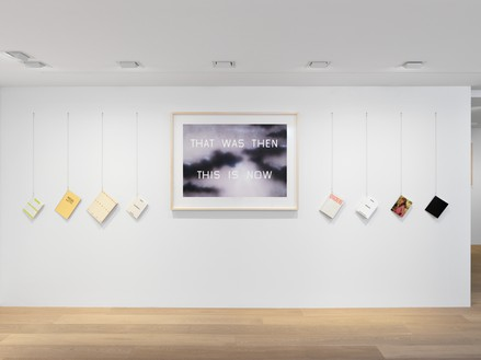 Installation view Artwork © Ed Ruscha. Photo: Annik Wetter