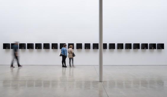 Installation view Artwork © Edmund de Waal. Photo: Jeff McLane