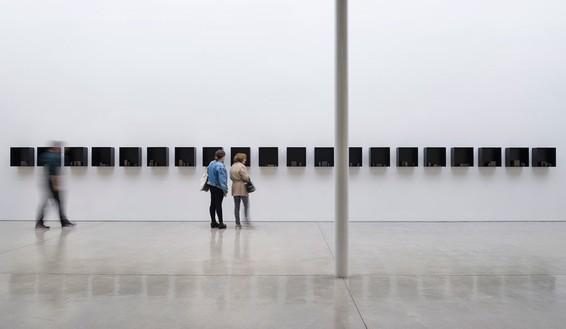 Installation view © Edmund de Waal, photo by Jeff McLane