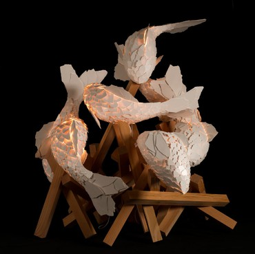 Frank Gehry: Fish Lamps, Rome