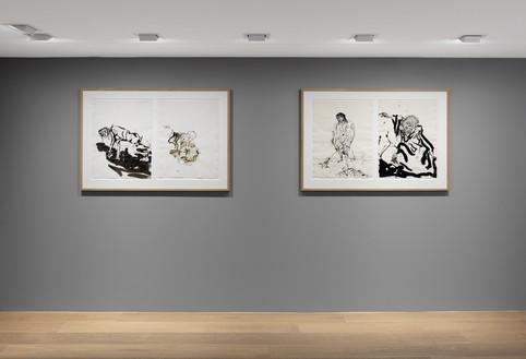 Installation view Artwork © Georg Baselitz. Photo: Annik Wetter